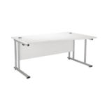 FR FIRST WAVE RH CANT DESK 1600 WHITE