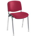 FR FIRST STACKING CHAIR CLARET CHRM FRM