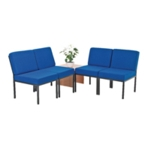 FR FIRST RECEP SEAT BLUE COFF TABLE LO