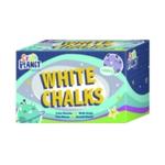 Study Time Chalk White Pk 100