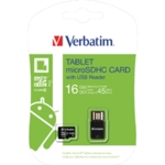 Verbatim 16gb Micro SDHC Card/USB Reader