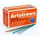 Artstraws Assorted Colours