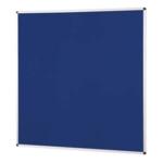 Notice Board Aluminium Frame 1200X1200mm Blue