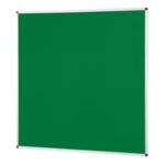 Notice Board Aluminium Frame 1200X1200mm Green