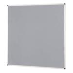 Notice Board Aluminium Frame 1200X1200mm Grey