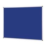Notice Board Aluminium Frame 1200 X 1500mm Blue