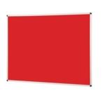 Notice Board Aluminium Frame 1200 X 1500mm Red