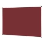 Notice Board Aluminium Frame 1800X1200mm Burgundy