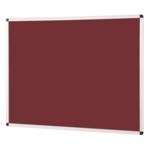 Notice Board Aluminium Frame 600X900mm Burgundy
