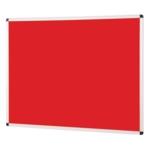 Noticeboards Alumininum Frame 600mmx900mm Red