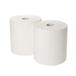2Work 170mx250mm White Indust Roll Pk2