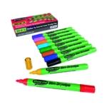 Showme Drywipe Slim Pen Medium Tip Pk10
