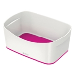 Leitz MyBox Storage Tray White Pink