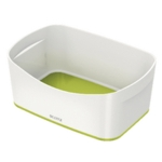 Leitz MyBox Storage Tray White Green