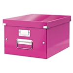 Leitz Click Store Med Storage Box Pink