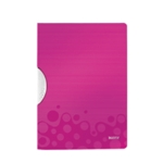 Leitz WOW Colorclip PP File Pink Pk10