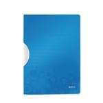 Leitz WOW Colorclip PP File Blue Pk10
