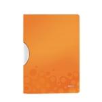 Leitz WOW Colorclip PP File Orange Pk10