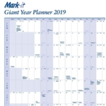 Mark-it Giant Year Planner 2019 19YP