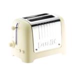 Dualit 2 Slice HGloss Lite Toaster Cream