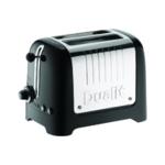 Dualit 2 Slice HGloss Lite Toaster Black