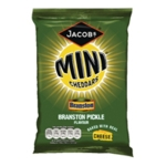 Jacobs Mini Cheddars Branston Pckle PK30