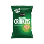 Jacobs Crinklys Cheese and Onion PK30