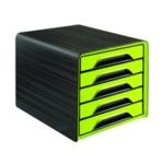CEP Smoove 5 Drawer Module Black/Green