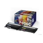 Samsung CLT-P406C 4Pk CYMK Toner Cart