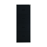 FR Talos 4 Drawer Filing Cabinet Black