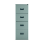FR Talos 4 Drawer Filing Cabinet Grey