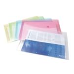 Rapesco Popper Wallet Fs Pastel Asd P5