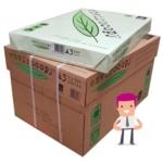 ENVIROcopy L Eco Label White Copier A3 (420) Green Leaf