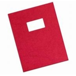 Rexel Binding Covers Red, Window 46725