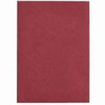 Leathergrain Binding covers A4 Red Plain