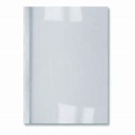 Thermal Binding Covers Clear /White A4 1.5mm