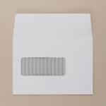 C6 Communique White Window P/S Env 01802