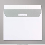 C5 Comm White Plain P/S Wallet Env 01025
