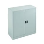 FR Talos Double Door Cupboard 1000 White