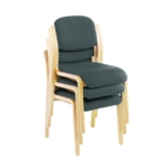 FR First Recep Side Chairs Charcoal X3
