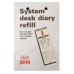 Letts System Desk Refill 2019 5-TSDR