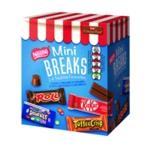 Nestle Mini Breaks 24 Mixed 416g