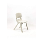 Postura Plus Posture Chair 430mm H Almond White