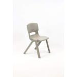 Postura Plus Posture Chair 430mm H Ash Grey