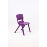 Postura Plus Posture Chair 430mm H Grape Crush
