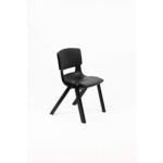 Postura Plus Posture Chair 430mm H Jet Black