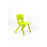 Postura Plus Posture Chair 430mm H Lime Zest