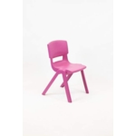 Postura Plus Posture Chair 430mm H Pink Candy