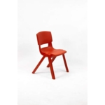 Postura Plus Posture Chair 430mm H Poppy Red
