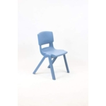 Postura Plus Posture Chair 430mm H Powder Blue